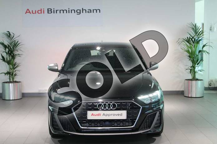 Image seven of this 2019 Audi A1 Sportback 40 TFSI S Line Competition 5dr S Tronic in Myth Black Metallic at Birmingham Audi