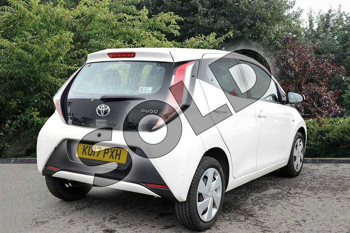 Image two of this 2017 Toyota AYGO Hatchback 1.0 VVT-i X-Play 5dr in White at Listers Toyota Nuneaton