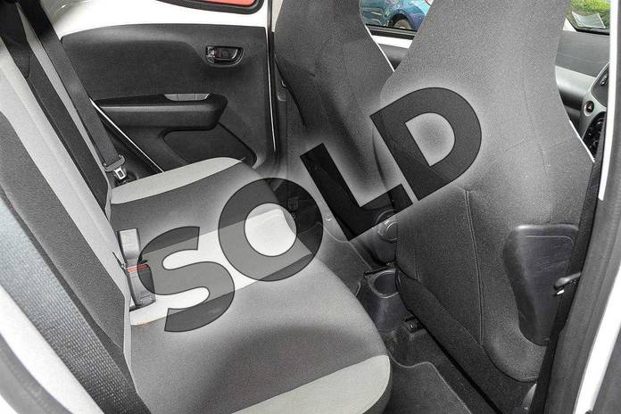 Image twelve of this 2017 Toyota AYGO Hatchback 1.0 VVT-i X-Play 5dr in White at Listers Toyota Nuneaton