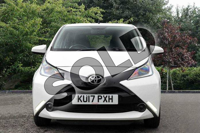 Image fourteen of this 2017 Toyota AYGO Hatchback 1.0 VVT-i X-Play 5dr in White at Listers Toyota Nuneaton