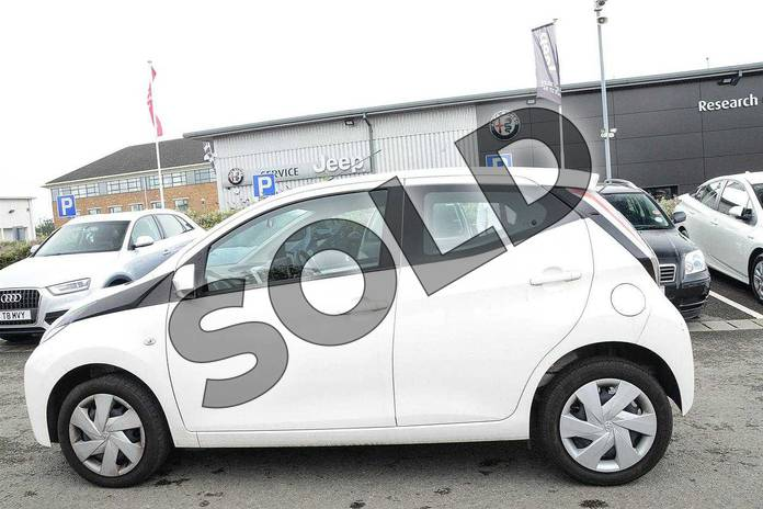 Image seventeen of this 2017 Toyota AYGO Hatchback 1.0 VVT-i X-Play 5dr in White at Listers Toyota Nuneaton