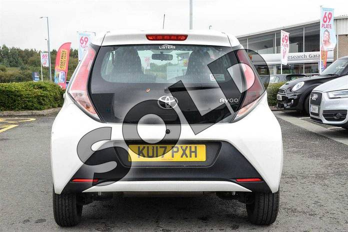 Image nineteen of this 2017 Toyota AYGO Hatchback 1.0 VVT-i X-Play 5dr in White at Listers Toyota Nuneaton