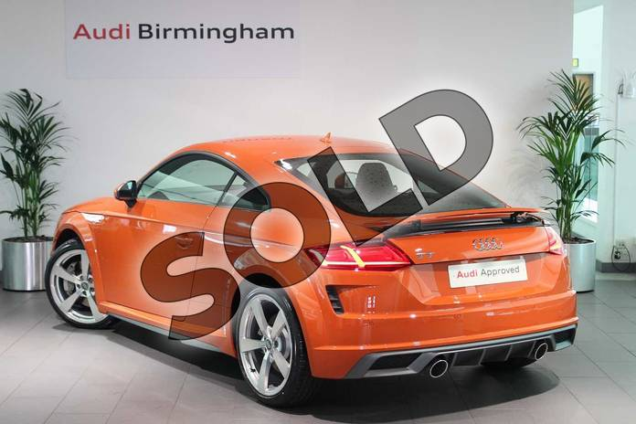 Image three of this 2019 Audi TT Coupe 45 TFSI S Line 2dr S Tronic in Pulse Orange at Birmingham Audi