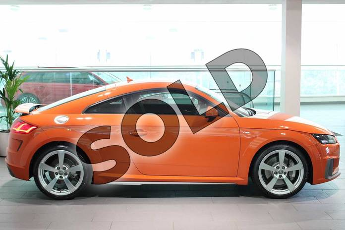 Image four of this 2019 Audi TT Coupe 45 TFSI S Line 2dr S Tronic in Pulse Orange at Birmingham Audi