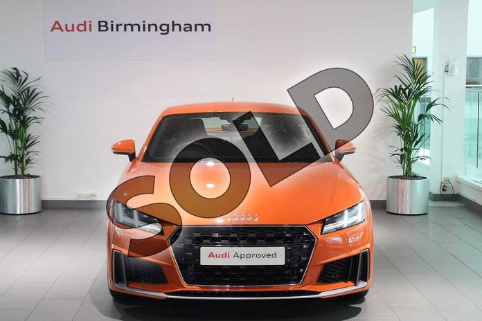 Image seven of this 2019 Audi TT Coupe 45 TFSI S Line 2dr S Tronic in Pulse Orange at Birmingham Audi