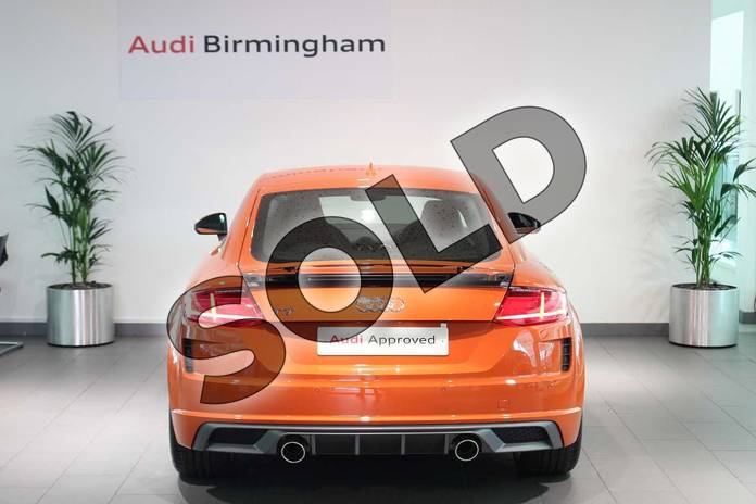 Image fifteen of this 2019 Audi TT Coupe 45 TFSI S Line 2dr S Tronic in Pulse Orange at Birmingham Audi