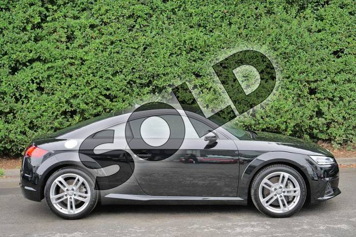 Image four of this 2019 Audi TT Coupe 45 TFSI Quattro Sport 2dr S Tronic in Myth Black Metallic at Worcester Audi