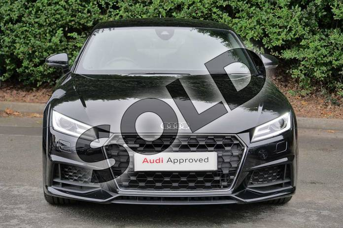 Image seven of this 2019 Audi TT Coupe 45 TFSI Quattro Sport 2dr S Tronic in Myth Black Metallic at Worcester Audi