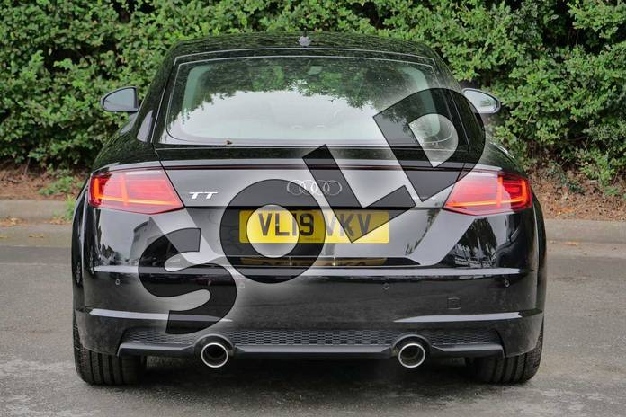 Image nine of this 2019 Audi TT Coupe 45 TFSI Quattro Sport 2dr S Tronic in Myth Black Metallic at Worcester Audi