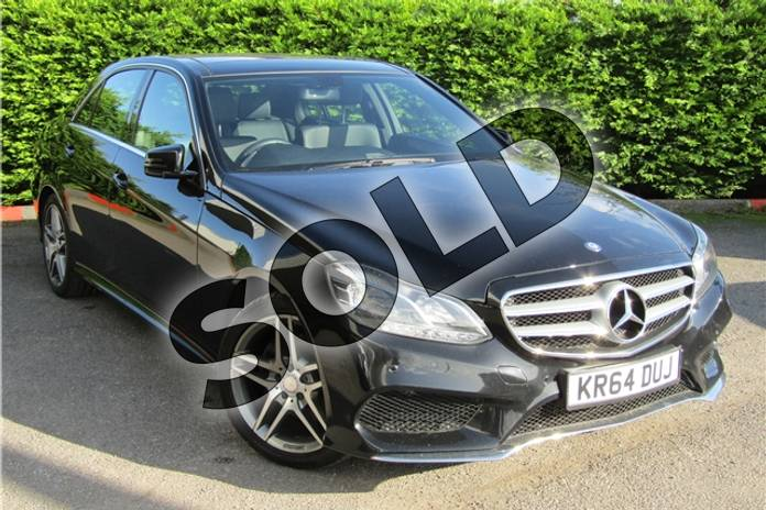 Picture of Mercedes-Benz E Class Diesel E220 BlueTEC AMG Line Premium 4dr 7G-Tronic in Metallic - Obsidian black
