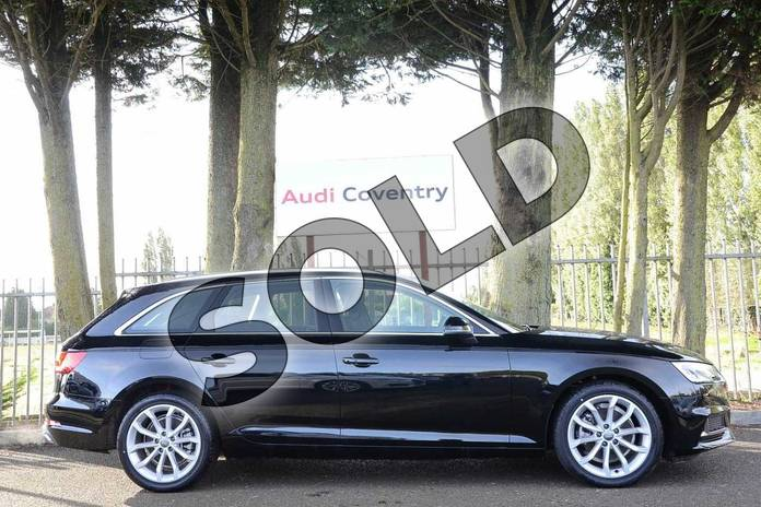 Image four of this 2019 Audi A4 Avant 35 TFSI Sport 5dr in Myth Black Metallic at Coventry Audi