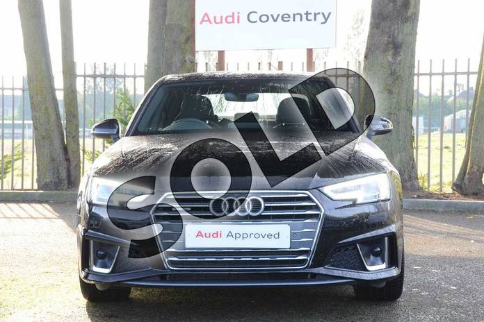 Image seven of this 2019 Audi A4 Diesel Saloon 40 TDI Quattro S Line 4dr S Tronic in Myth Black Metallic at Coventry Audi