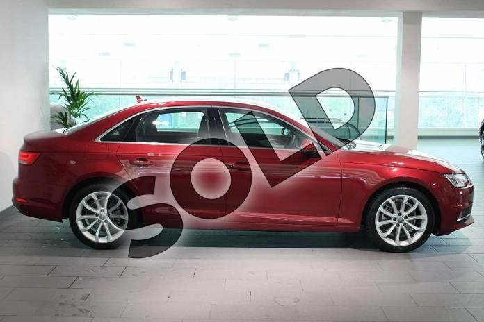 Image four of this 2019 Audi A4 Diesel Saloon 35 TDI Sport 4dr S Tronic in Matador Red Metallic at Birmingham Audi