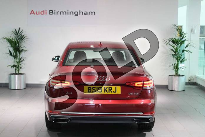 Image fourteen of this 2019 Audi A4 Diesel Saloon 35 TDI Sport 4dr S Tronic in Matador Red Metallic at Birmingham Audi