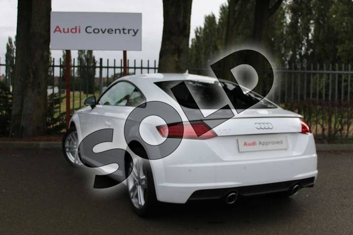 Image three of this 2019 Audi TT Coupe 45 TFSI Sport 2dr in Ibis White at Coventry Audi