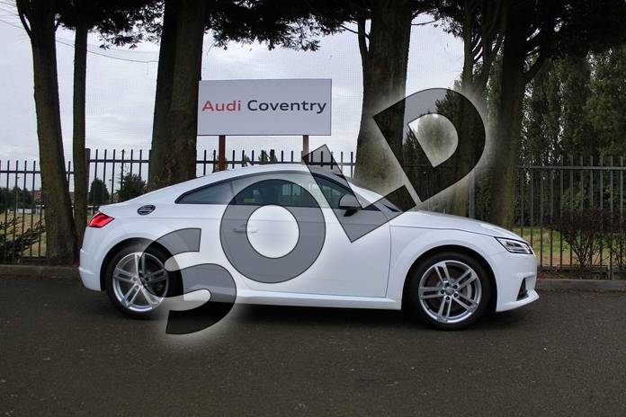 Image four of this 2019 Audi TT Coupe 45 TFSI Sport 2dr in Ibis White at Coventry Audi