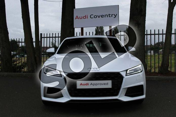 Image seven of this 2019 Audi TT Coupe 45 TFSI Sport 2dr in Ibis White at Coventry Audi