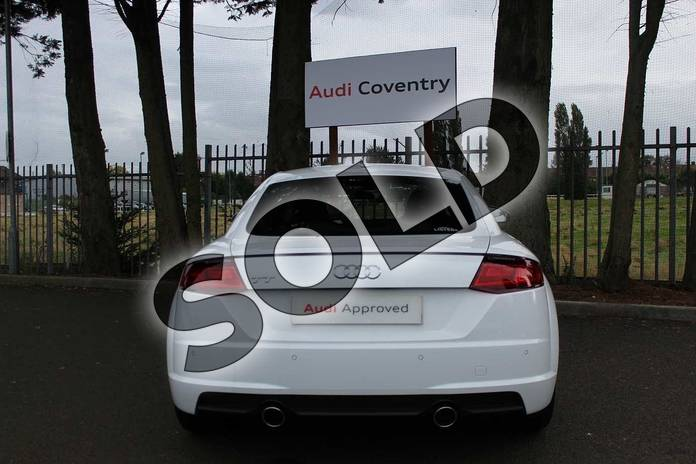 Image twelve of this 2019 Audi TT Coupe 45 TFSI Sport 2dr in Ibis White at Coventry Audi