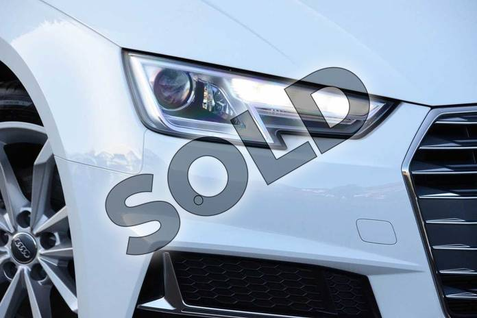 Image seven of this 2019 Audi A4 Diesel Avant 35 TDI Sport 5dr S Tronic in Ibis White at Coventry Audi