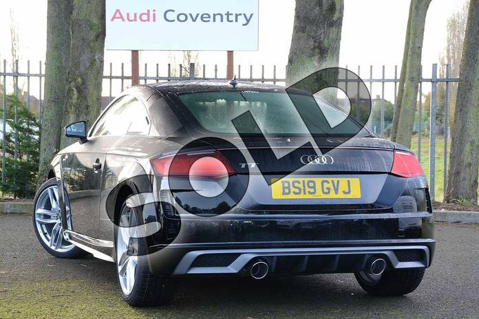 Image three of this 2019 Audi TT Coupe 40 TFSI S Line 2dr S Tronic in Myth Black Metallic at Coventry Audi