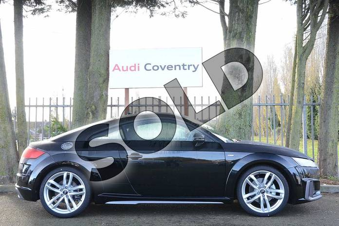 Image four of this 2019 Audi TT Coupe 40 TFSI S Line 2dr S Tronic in Myth Black Metallic at Coventry Audi