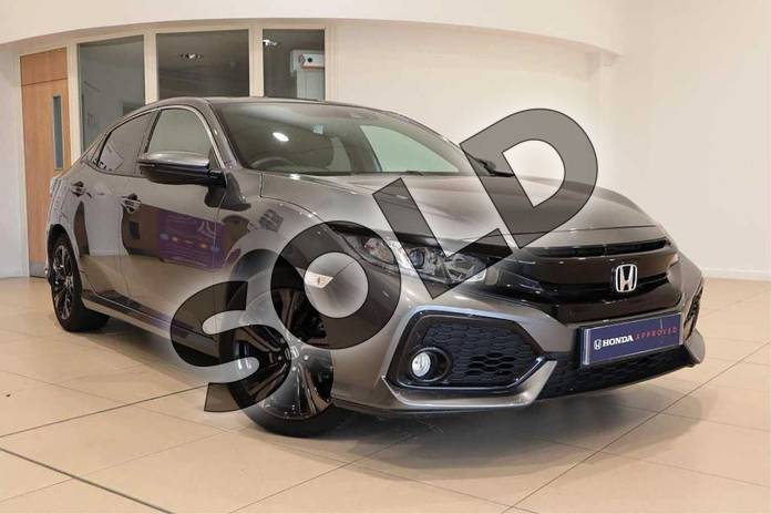 Picture of Honda Civic 1.0 VTEC Turbo EX 5dr CVT in Polished Metal