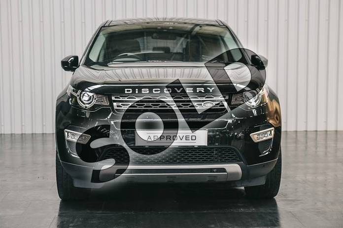 Image seven of this 2015 Land Rover Discovery Sport Diesel SW Diesel SW 2.0 TD4 180 HSE Luxury 5dr Auto in Santorini Black at Listers Land Rover Solihull