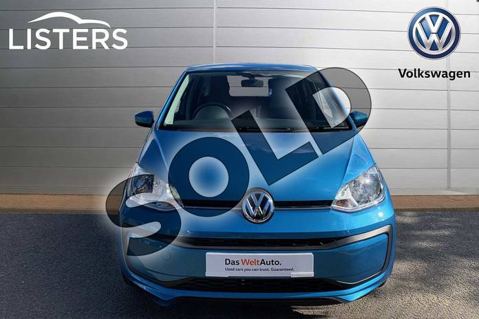 Image seven of this 2019 Volkswagen Up Hatchback 1.0 Move Up 5dr in Costa Azule at Listers Volkswagen Leamington Spa