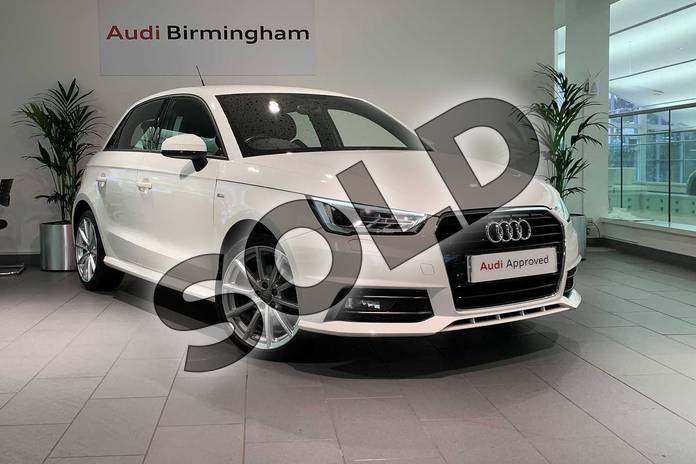 Picture of Audi A1 1.4 TFSI S Line 5dr in Shell White
