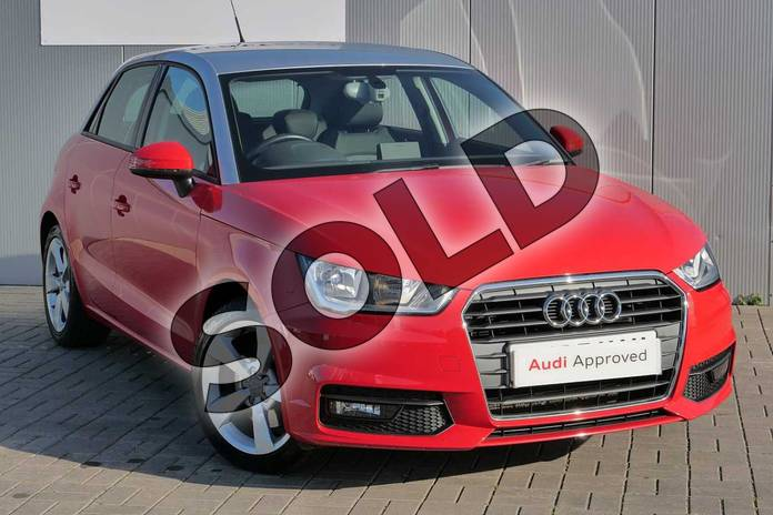 Picture of Audi A1 1.4 TFSI Sport 5dr in Misano Red Pearlescent