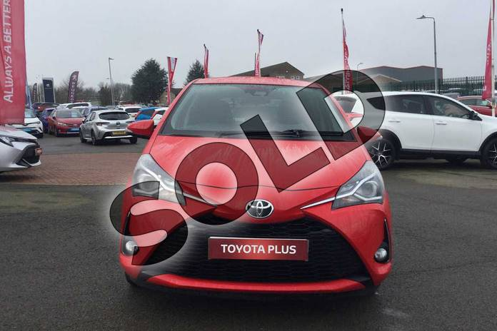 Image fifteen of this 2017 Toyota Yaris Hatchback 1.5 VVT-i Design 5dr in Chilli Red at Listers Toyota Grantham