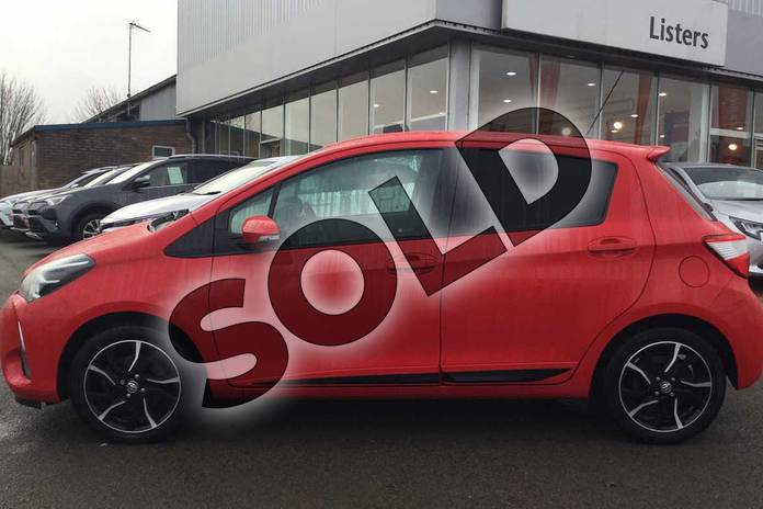 Image seventeen of this 2017 Toyota Yaris Hatchback 1.5 VVT-i Design 5dr in Chilli Red at Listers Toyota Grantham