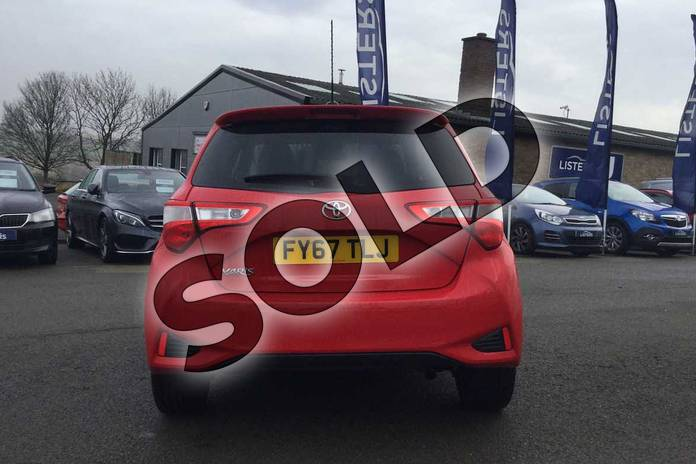 Image nineteen of this 2017 Toyota Yaris Hatchback 1.5 VVT-i Design 5dr in Chilli Red at Listers Toyota Grantham