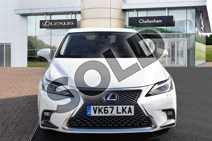 Image seven of this 2017 Lexus CT Hatchback 200h 1.8 Premier 5dr CVT in Sonic White at Lexus Cheltenham
