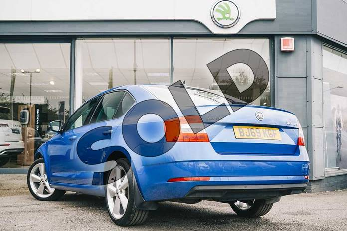Image three of this 2019 Skoda Octavia Hatchback 1.5 TSI SE L 5dr DSG in Race Blue at Listers ŠKODA Coventry