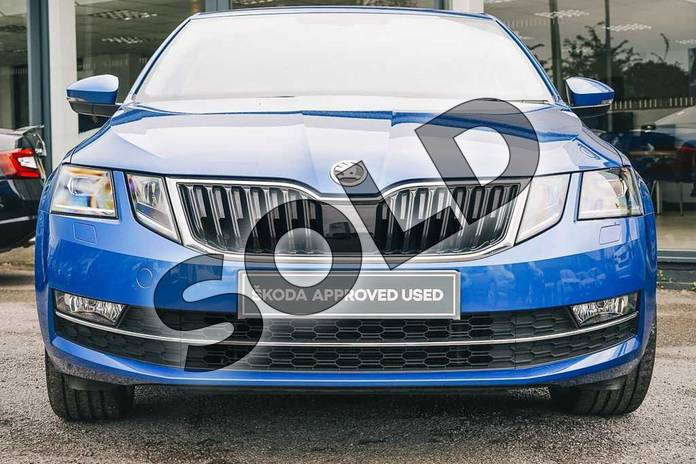 Image seven of this 2019 Skoda Octavia Hatchback 1.5 TSI SE L 5dr DSG in Race Blue at Listers ŠKODA Coventry