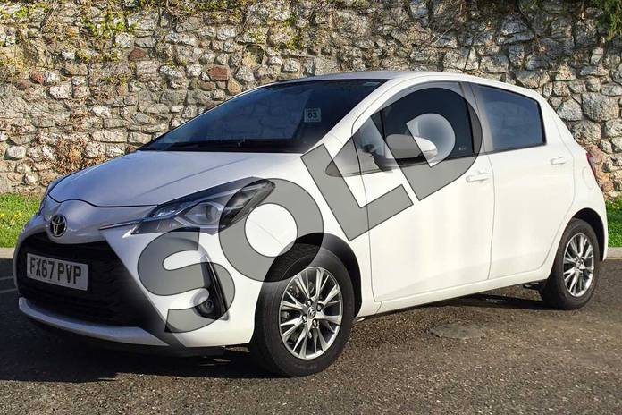 Image three of this 2017 Toyota Yaris Hatchback 1.5 VVT-i Icon 5dr in Pure White at Listers Toyota Boston