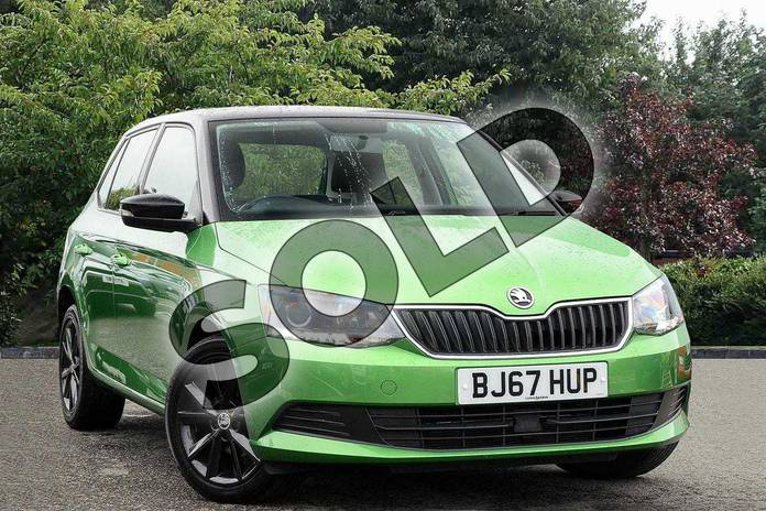 Picture of Skoda Fabia Special Editions 1.0 TSI Colour Edition 5dr in Green