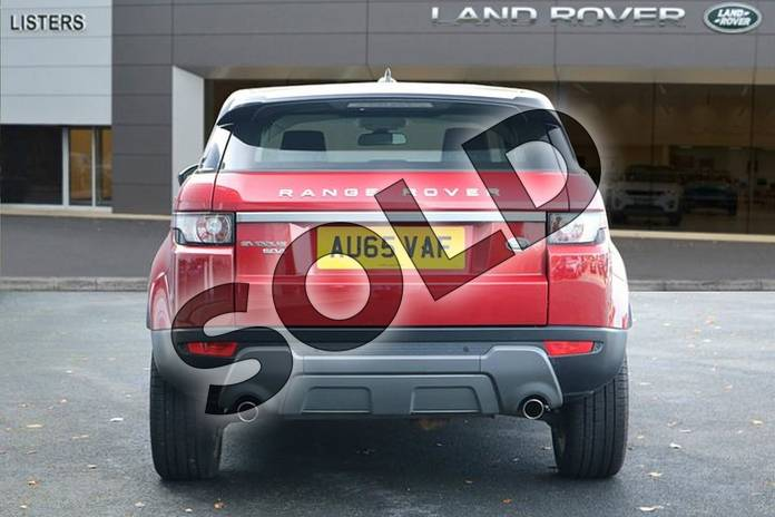 Image six of this 2015 Range Rover Evoque Diesel Hatchback Diesel 2.2 SD4 Pure 5dr (Tech Pack) in Firenze Red at Listers Land Rover Hereford