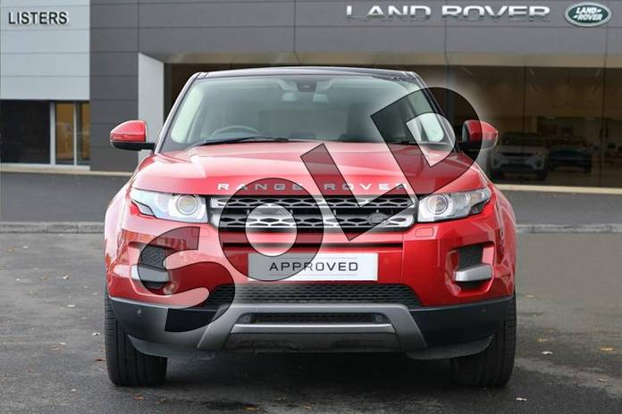 Image seven of this 2015 Range Rover Evoque Diesel Hatchback Diesel 2.2 SD4 Pure 5dr (Tech Pack) in Firenze Red at Listers Land Rover Hereford