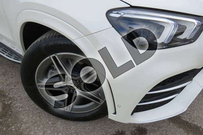 Image eleven of this 2019 Mercedes-Benz GLE Diesel Estate Diesel GLE 300d 4Matic AMG Line Prem + 5dr 9G-Tron (7 St) in designo diamond white bright at Mercedes-Benz of Boston