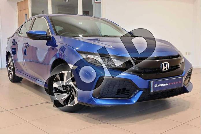 Picture of Honda Civic 1.0 VTEC Turbo SE 5dr in Brilliant Sporty Blue