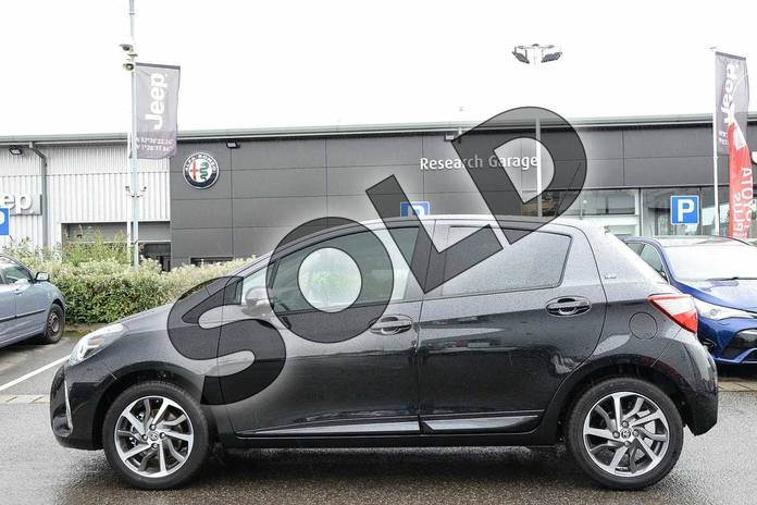 Image seven of this 2019 Toyota Yaris Hatchback 1.5 VVT-i Y20 5dr (Bi-tone) in Black at Listers Toyota Nuneaton
