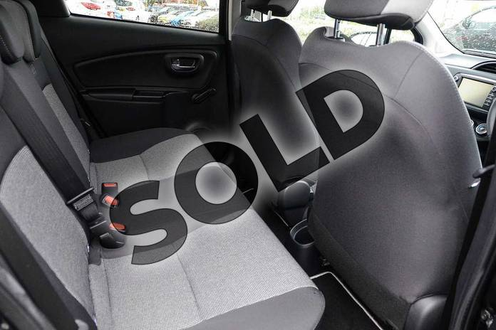 Image ten of this 2019 Toyota Yaris Hatchback 1.5 VVT-i Y20 5dr (Bi-tone) in Black at Listers Toyota Nuneaton