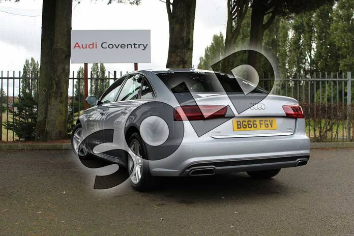 Image three of this 2016 Audi A6 Diesel Saloon Diesel 2.0 TDI Ultra S Line 4dr S Tronic in Floret Silver Metallic at Coventry Audi