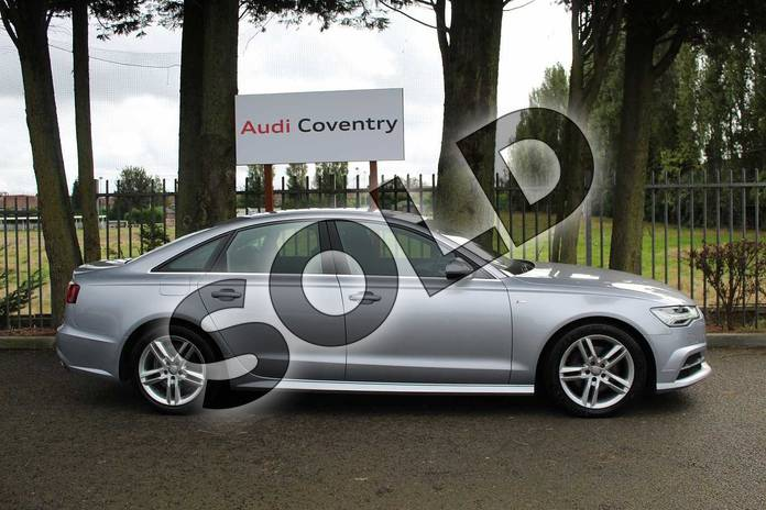Image four of this 2016 Audi A6 Diesel Saloon Diesel 2.0 TDI Ultra S Line 4dr S Tronic in Floret Silver Metallic at Coventry Audi