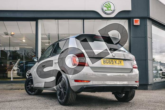 Image three of this 2019 Skoda Fabia Hatchback 1.0 TSI 110 Monte Carlo 5dr DSG in Meteor Grey at Listers ŠKODA Coventry
