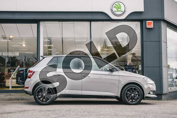 Image four of this 2019 Skoda Fabia Hatchback 1.0 TSI 110 Monte Carlo 5dr DSG in Meteor Grey at Listers ŠKODA Coventry