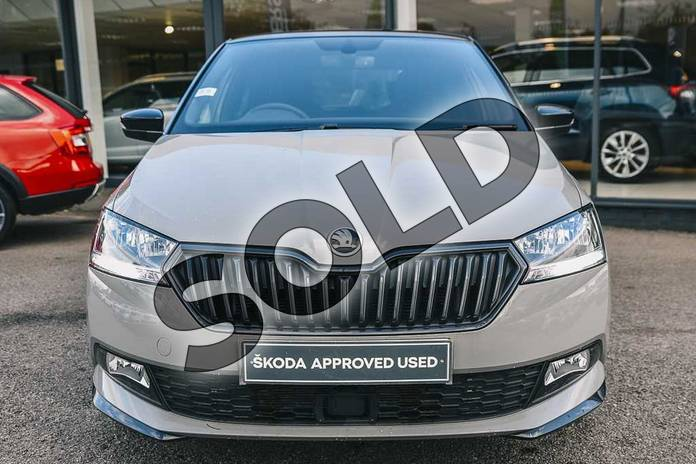 Image seven of this 2019 Skoda Fabia Hatchback 1.0 TSI 110 Monte Carlo 5dr DSG in Meteor Grey at Listers ŠKODA Coventry