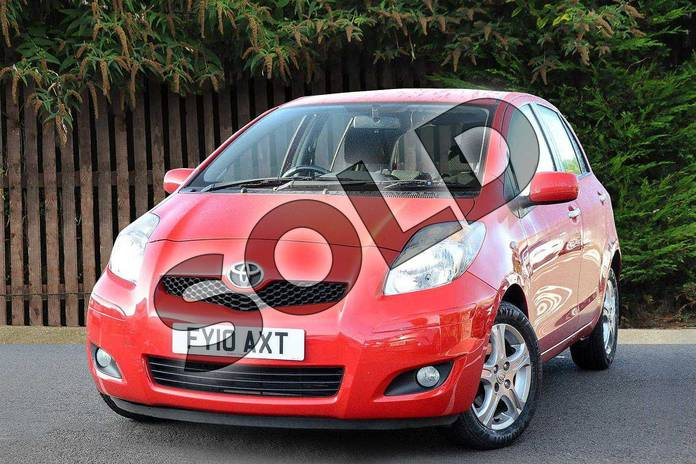 Image three of this 2010 Toyota Yaris Hatchback 1.33 VVT-i TR 5dr (6) in Red Pop at Listers Toyota Coventry